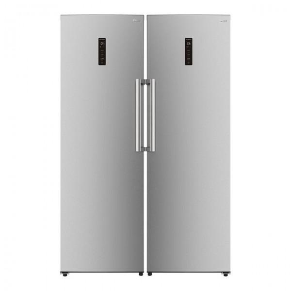 یخچال و فریزر دوقلوی جیپلاس مدل K214FS-K214LS