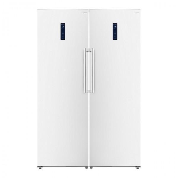 یخچال و فریزر دوقلوی جیپلاس مدل K214FW-K214LW
