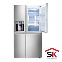 یخچال فریزر ساید بای ساید سری بنتلی ال جی مدل SXB550NS
