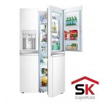 یخچال فریزر ساید بای ساید سری بنتلی ال جی مدل SXB550WB